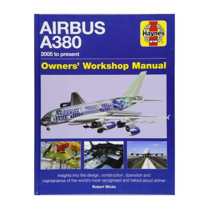 Haynes a380 owners manual aviation gifts