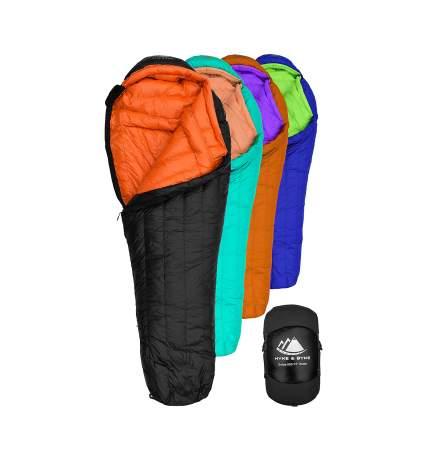 Hyke & Byke down sleeping bag