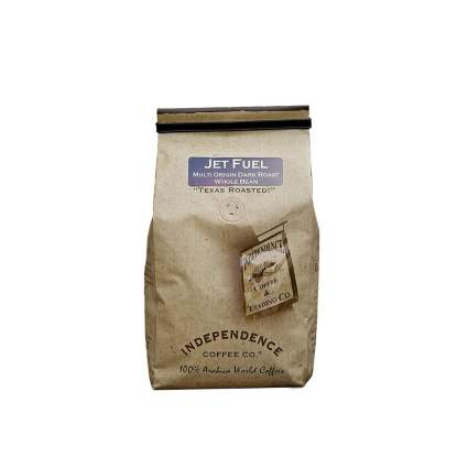 Independence Coffee Co jet fuel coffee aviation gifts