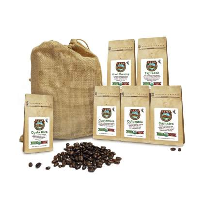 Java Planet coffee gift basket