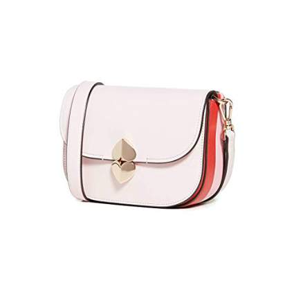 Kate Spade New York Womens Lula Small Saddle Bag