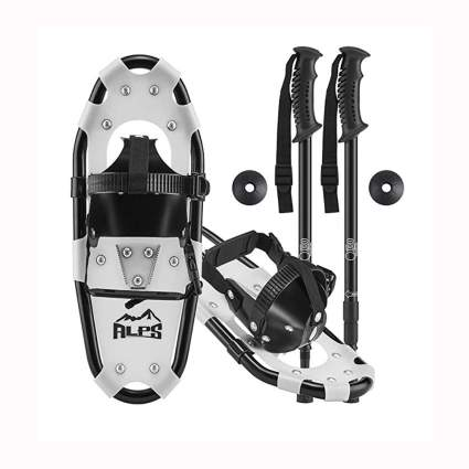 kids' snowshoes set
