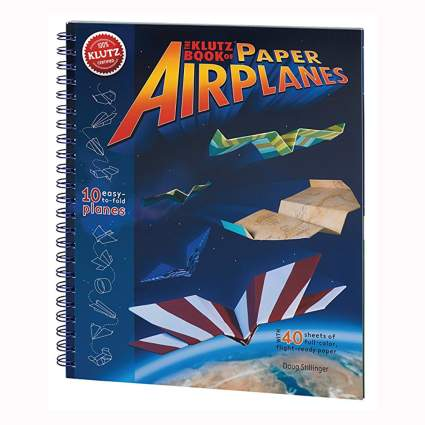 paper airplane craft kit