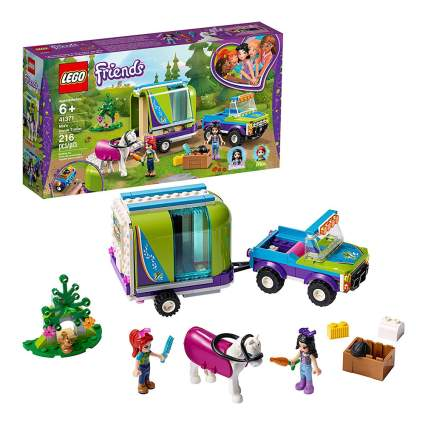 Lego toys with horse trailer