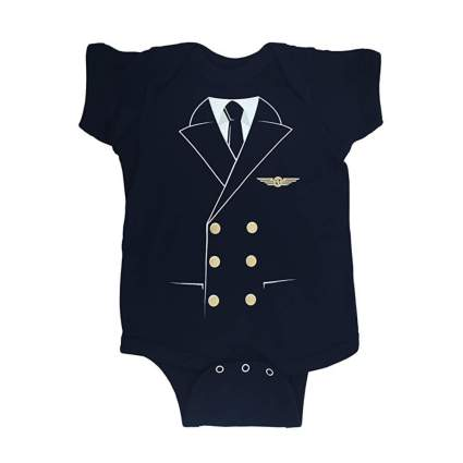 Luso Aviation pilot baby onesie aviation gifts
