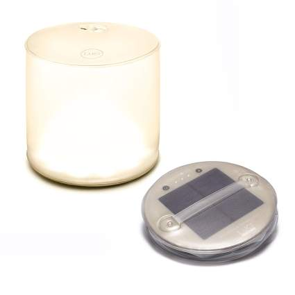 Collapsing solar lantern