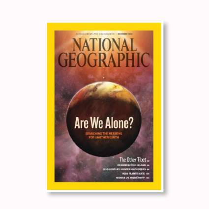 gift subscription to National Geographic magazine
