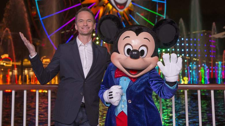 Neil Patrick Harris and Mickey Mouse
