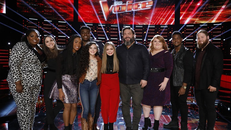 The Voice Voting 2018