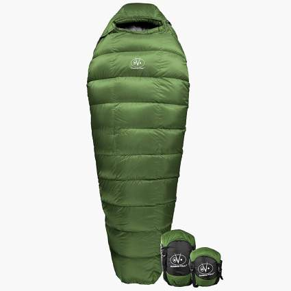 outdoor vitals down sleeping bag