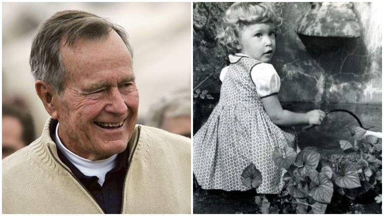 Robin Bush and George Bush