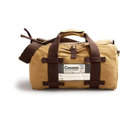 Red Canoe duffel bag aviation gifts