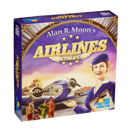 Rio Grande Games Airlines Europe game aviation gifts