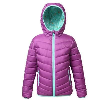 Rokka&Rolla Girls' Lightweight Reversible Puffer Jacket