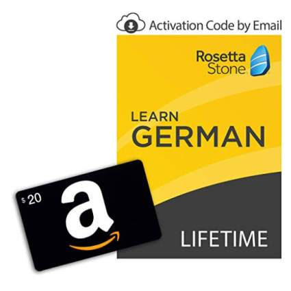 rosetta stone learn german digital gift