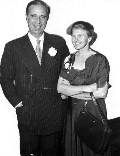 Prescott and Dorothy Bush