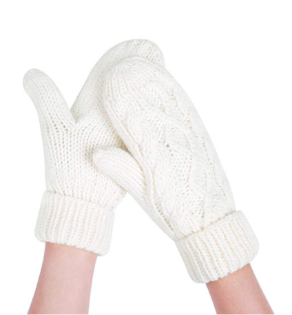 Women's Crocheted Winter Gloves