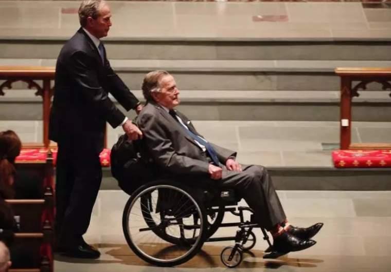 George Bush's son George W.