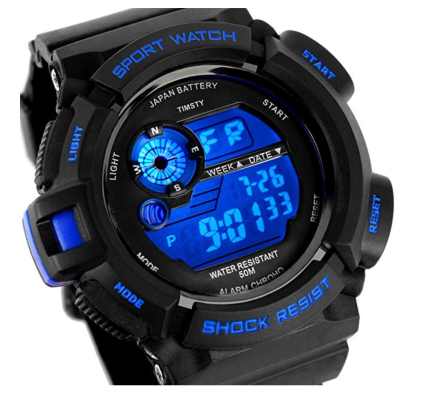 Timsty Electronic Sports Watch