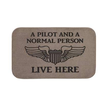 Sportys doormat aviation gifts