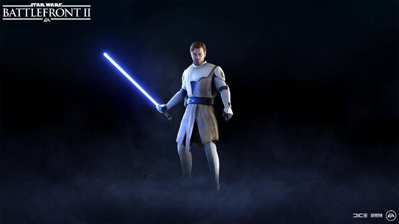 Star Wars Battlefront 2 General Kenobi