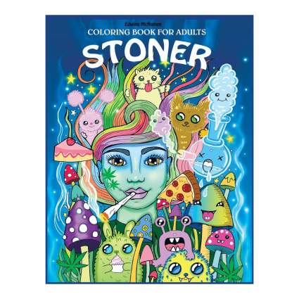 stoner coloring book
