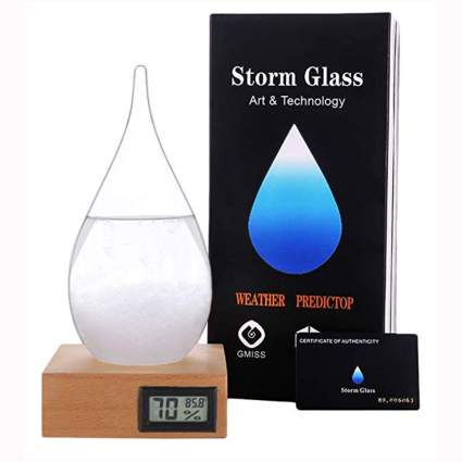 storm glass weather station