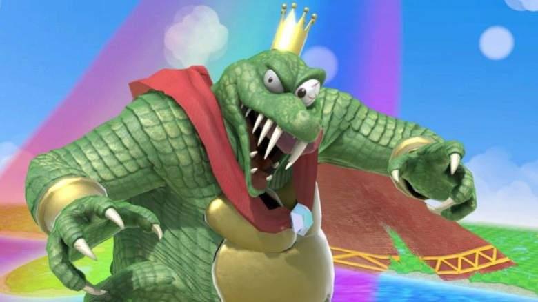 Super Smash Bros Ultimate Unlock King K Rool