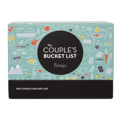 The Couples Bucket List - 100 Date Night Idea Cards