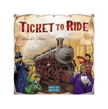 ticket to ride adult board game
