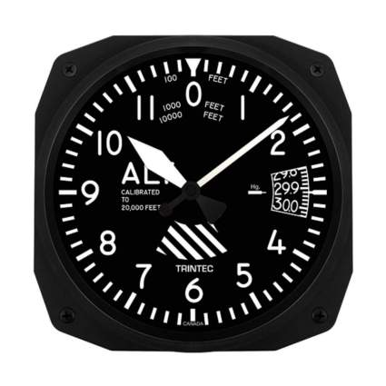 Trintec wall clock aviation gifts