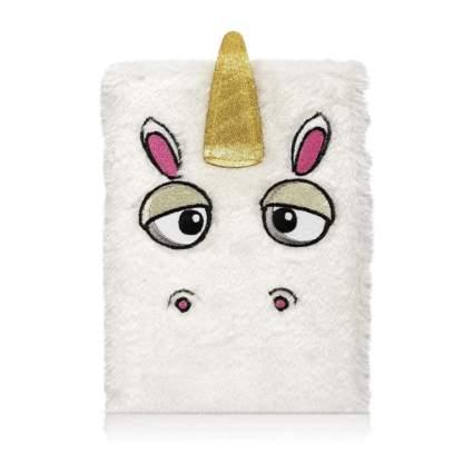 unicorn fuzzy journal for kids
