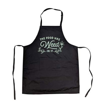 weed apron
