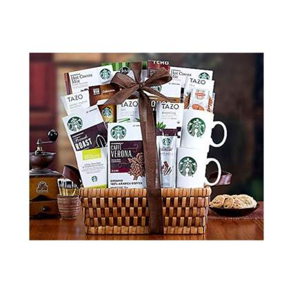 Wine Country Gift Baskets Starbucks Spectacular Coffee Lovers Gift Basket