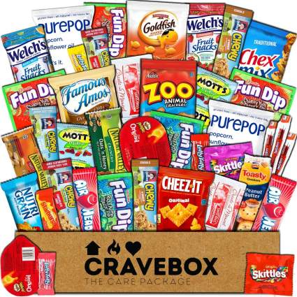 cravebox snack box