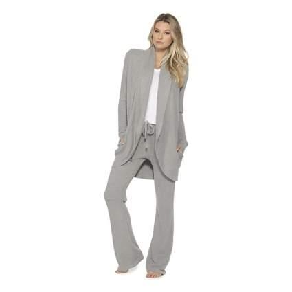grey circle cardigan