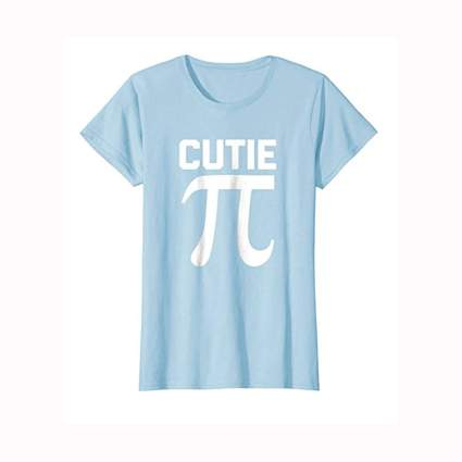 light blue cutie pi tee shirt