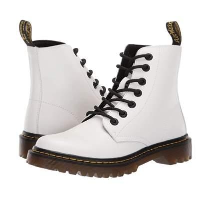 white dr. martens luna boots