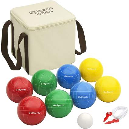 GoSports Backyard Bocce Set