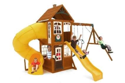 KidKraft Lewiston Retreat Cedar Wood Swing Set