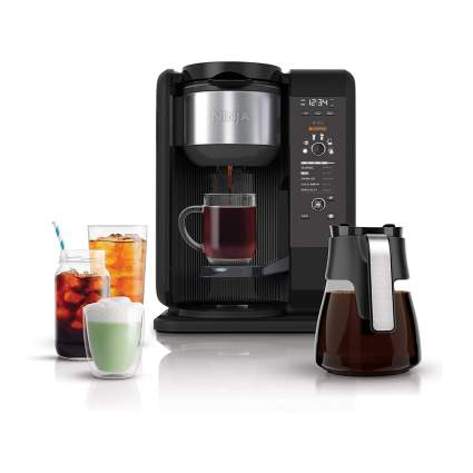hot and cold brew coffee system