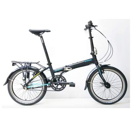 7 speed folding bike