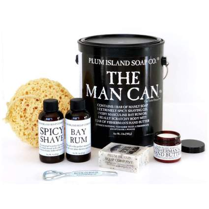 The Man Can gift basket