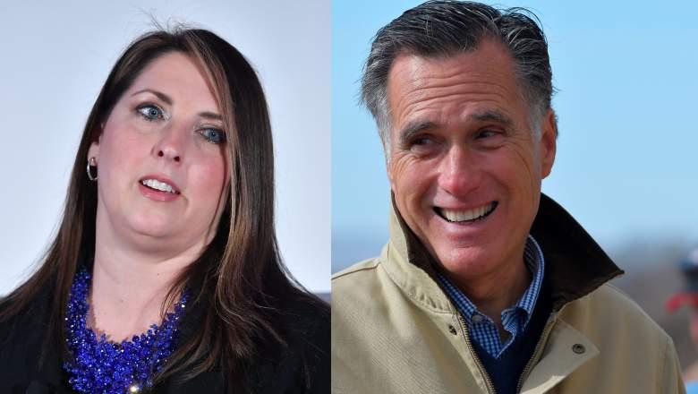 Ronna McDaniel Mitt Romney