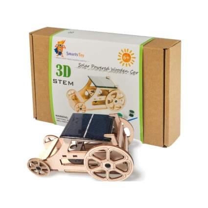 Wooden Solar Car Model Kits