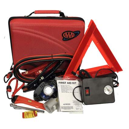 Orange care safety kit from AAA