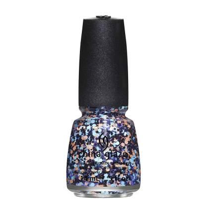Glitter nail polish from China Glaze