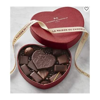 Heart shaped box from Maison du Chocolat
