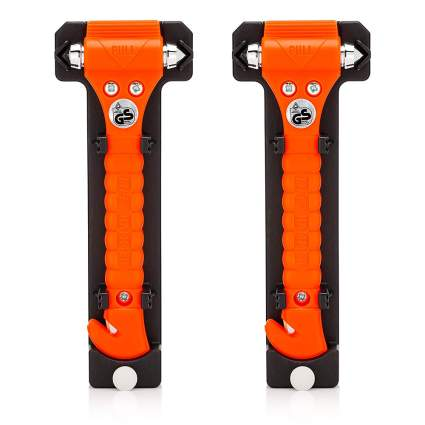 Orange life hammer two pack