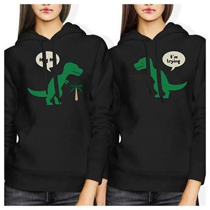 t-rex hoodies